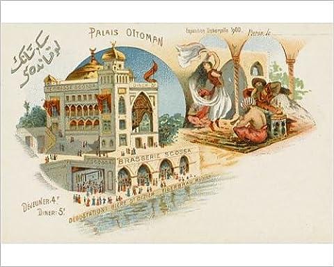 Photographic Print of Ottoman Palace - Paris Exhibition