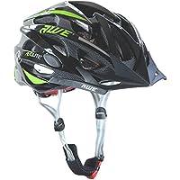 AWE® AeroLite™ 24 Vents doppio In-Mould per Casco Bici Adulto 58-61cm Nero/verde