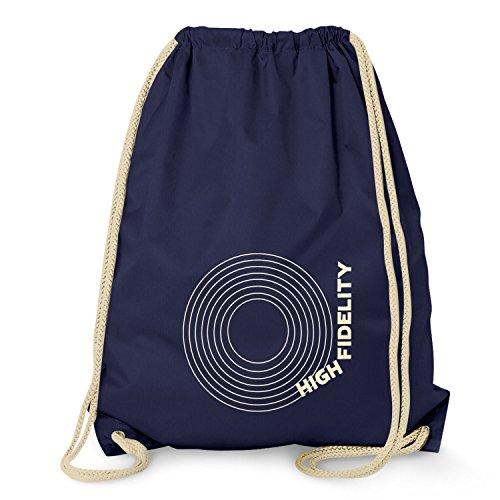 Texlab - High Fidelity - Turnbeutel, navy - Plattenspieler High-fidelity