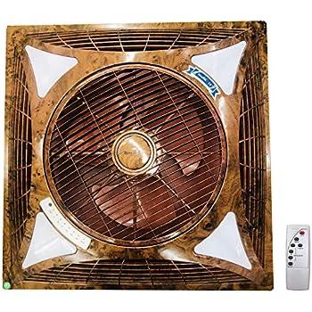 Buy Premium Recessed False Ceiling Cassette Fan Brown