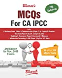 MCQs for CA IPCC on Business Laws, Ethics & Communication; Taxation; Auditing & Assurance;Information Technology & Strategic Management 2019