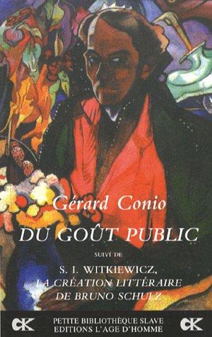 Du goût public par Gérard Conio