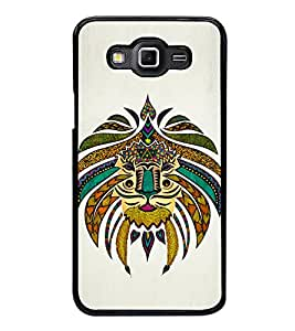 Printvisa Ultra Tribal Art 2D Hard Polycarbonate Designer Back Case Cover for Samsung Galaxy ...