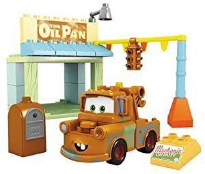 Mega Bloks - Jeu de construction - Cars - La station service
