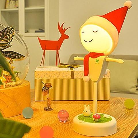 WGE Neue Merkwürdige Geführte Lichter Kreative Haupt Intelligente Induktion Usb-Schreibtisch Lichter Nachtlicht Kindergeschenke Kreative Schreibtischlampe Schlafzimmer , Storage Yellow Christmas
