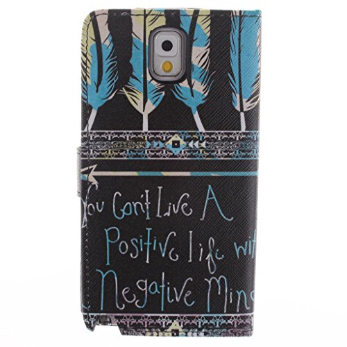 Nutbro [Galaxy Note 3] Note3 Case,Galaxy Note 3 Case,[Vertical Flip] iPhone Colorful Design Magnetic PU Leather Flip Case for Samsung Note 3 ZZ-Note3-28