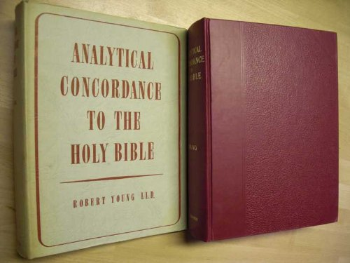 Analytical Concordance to the Holy Bible containing about 311,000 references, subdivided under the Hebrew and Greek original with the literal meaning and pronunciation of each; also index lexicons to the old and new testaments, being a guide to parallel passages; prepared by Professor WM.B.Stevenson; with a complete list of scripture proper namens by the same author :