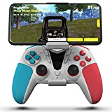 Darkwalker Manette Bluetooth sans Fil pour iOS/Android OS/PS3/PC Windows, Manette pour Les Jeux Mobiles Noir