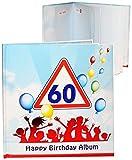 alles-meine.de GmbH Geburtstag -  60 Jahre - Happy Birthday  - Erinnerungsalbum / Fotoalbum - Ge..