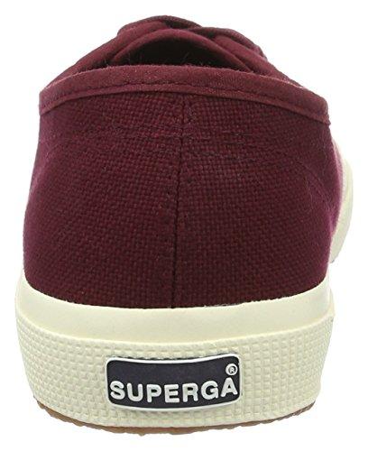 Superga 2750 Cotu Classic, Sneakers Unisex - Adulto Maroon