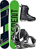 Stuf Element Wide 157W 2019 inkl. Style Black + Pure PRO Boot Black, 47
