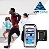 #8: SNM GLOBAL Sports Armband | Sports Arm Belt | Mobile Case For Running Jogging Sports & Gym Activities (Up to 4.7 to 5.7 inch)