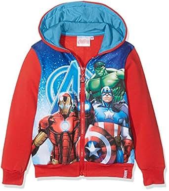 ecb053f35 Marvel Boy s Avengers Fighting Squad Hoodie  Amazon.co.uk  Clothing
