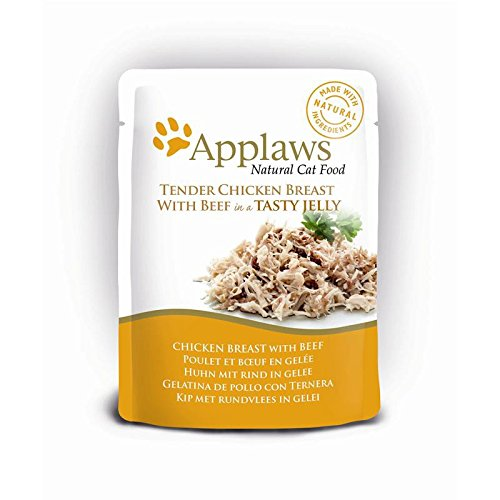 Applaws | Chicken Breast with Beef | 16 x 70 g