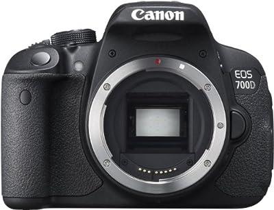 Canon EOS 700D - Cámara réflex digital de 18.0 Mp (pantalla táctil articulada de 3.0