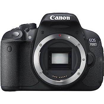 Canon EOS 700D Appareil photo numérique Réflex 18 Mpix Boîtier Nu Noir