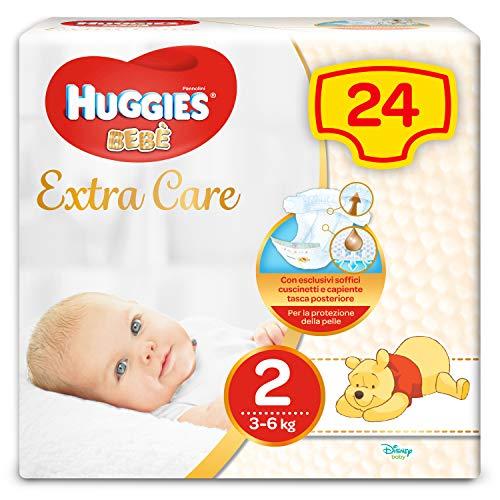 Huggies Baby, Größe 2(3-6KG), 24Windeln