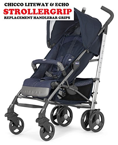 Stroller, Buggy , Pushchair, Replacement Handle, Grips SIZE - MEDIUM- To fit, CHICCO LITEWAY, MACLAREN, MOTHERCARE, KOOCHI, AND MORE