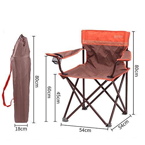 ZCJB Chaise Extérieure Chaise Pliante Portable Chaise De Pêche Chaise Longue Chaise De Plage Chaise Auto-Conduite (Couleur : Style3)