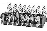 HELLA 8KV 003 284-001 Leitungsverbinder mit 8 x 4 Flachsteckanschlüssen