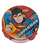 Cello Tiffy Insulated Lunch Box for School Kids-Superman,Red