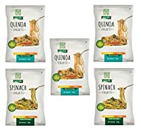 NutraHi Gluten Free Spaghetti Combo - 3 x Quinoa and 2 x Spinach - 84gm Each