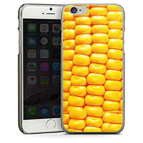 Apple iPhone 4 Housse Étui Silicone Coque Protection Maïs Grillades barbecue Nourriture CasDur anthracite clair