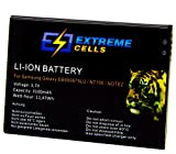 Batterie extrêmement ecells Samsung Galaxy GT-N7105Galaxy Note 2LTE Accu