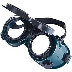 Babimax Masque de soudure à rabat avant Lunettes de sécurité Lunettes de soudeur pour soudage au gaz