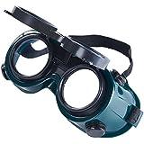 Babimax Schutzbrille Schweißbrille Augenschutz Vollsichtsbrille Arbeitsschutz UV-Schutz verstellbar Kopfband indirekte Belüftung kratzfest Polycarbonat Elektroschweißen Gasschweißen Autogenschneiden