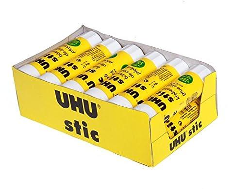 UHU Power Bâtons de colle extra fort lavable en machine 40g sans solvant pour Papier et carton