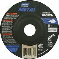 Norton Abrasives–St. Gobain metallo mola 4.5in dia 66252843607 - Norton Ruota