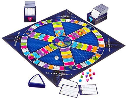 Hasbro-16762100-Trivial-Pursuit-Master-Edition