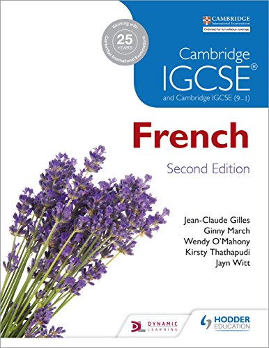 Cambridge IGCSE French Student Book