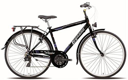 LEGNANO BICICLETA 430FORTE DEI MARMI GENT 21V TALLA 56NEGRO (CITY)/BICYCLE 430FORTE DEI MARMI GENT 21S SIZE 56BLACK (CITY)