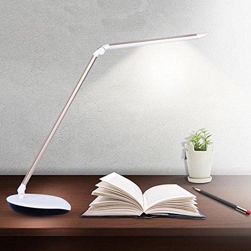 GBT Led Schreibtisch Licht Lesung Auge Lernen Büro Dimmen Touch Tischlampe (Led-Leuchten, Warmes Licht, Weißes Licht, Kronleuchter, Innenbeleuchtung, Außenleuchten, Wandleuchten) -