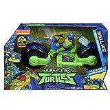 Giochi Preziosi Teenage Mutant Ninja, Turtles Rise Off, Moto con Personaggio, Shell Hog con Leo