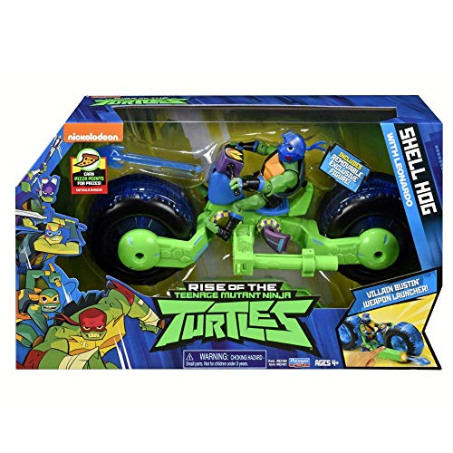 Teenage Mutant Ninja Turtles TUAB5200 - Casco de Concha con Figura