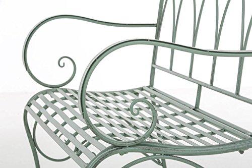 CLP Gartenbank ORKUN aus lackiertem Eisen - 7