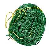 Fenteer Pflanzennetz Ranknetz Rankhilfe für Kletterpflanzen,1.8x1.8m