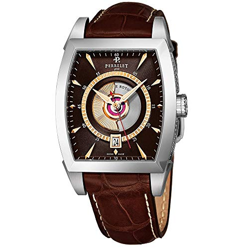 Perrelet Men's Case Quartz Analog Watch A1029-5