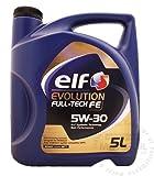 Elf Evolution Full-Tech FE 5W-30 Synthetic Engine Oil TOT-194908-5 - 5 Litre