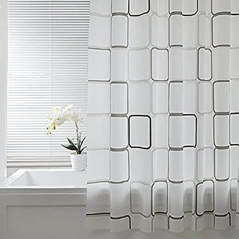 Duschvorhänge Bad wasserdicht Verdickung Mehltau Bad Vorhang (Größe: 300 * 200cm) ( größe : 120*180cm )