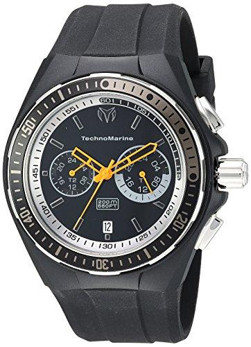 Technomarine orologio da uomo, colore: Nero (modello: 'Cruise' quarzo in...