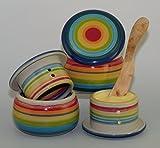 original französische wassergekühlte keramik butterdose, immer frische und streichzarte zum frühstück, für ca 250 gr butter, bob-marly B-G