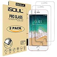 iSOUL [2 Pack] For iPhone 8 7 Screen Protector iPhone 8 / 7 4.7