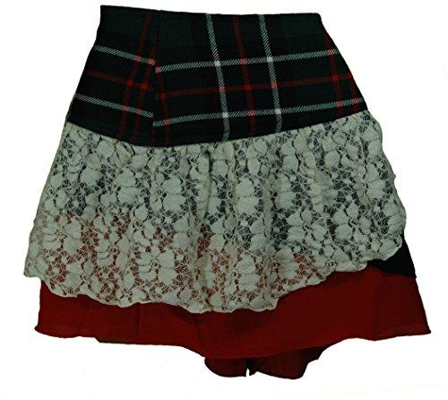 Designer scozzese Tartan Kilt Minigonna (Goth Steampunk Psytrance Tribal)