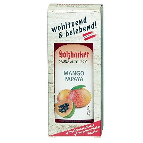 Holzhacker - Sauna Aufguss Öl - Mango Papaya 75ml