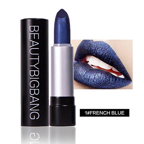 BeautyBigbang Glitzer Lippenstift Metall Schimmer Lipstick Makeup -