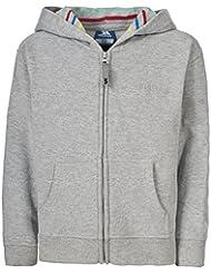 Trespass Kingston - Sudadera para niño, color gris claro, talla UK: Talla 2/3